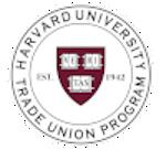 2021 Harvard Trade Union Program Workshops