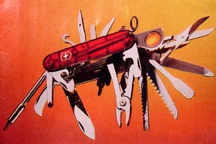 Extreme Swiss Army Knife