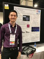 Brian Brzycki at 2018 AAS Meeting poster presentation