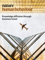 Knowledge Diffusion in the Network of International Business Travel