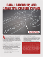 Data, Leadership, and Catalyzing Culture Change