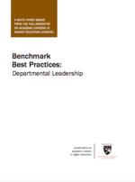 Benchmark Best Practices: Departmental Leadership