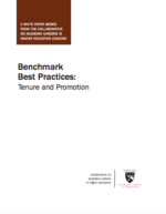 Benchmark Best Practices: Tenure and Promotion