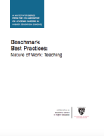 Benchmark Best Practices: Nature of Work: Teaching