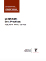 Benchmark Best Practices: Nature of Work: Service