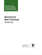 Benchmark Best Practices: Mentoring
