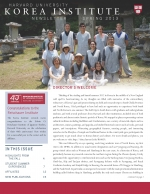 Korea Institute Spring 2013 Newsletter
