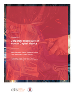 Corporate Disclosure of Human Capital Metrics