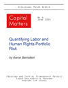 Occasional Papers, No. 4: Quantifying Labor and Human Rights Portfolio Risk