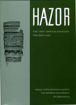 Hazor VI. The 1990 - 2009 Excavations. The Iron Age
