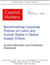 Occasional Papers, No. 5: Benchmarking Corporate Policies on Labor and Human Rights in Global Supply Chains