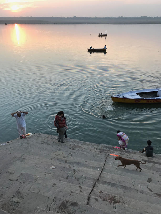 "Helene Lovett, ""Ganges,"" Varanasi, India"