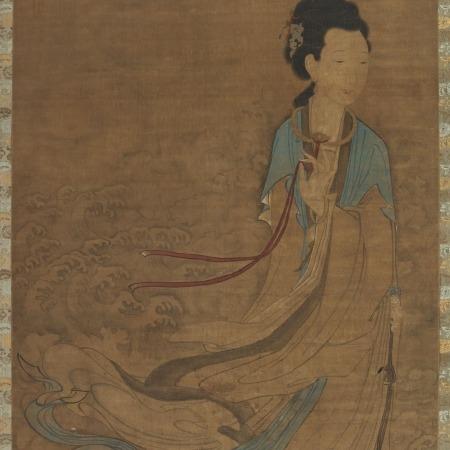 Asian women using dildo