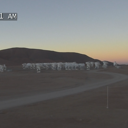 ALMA at dawn