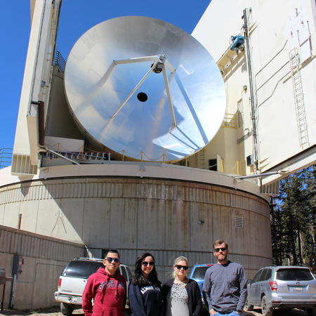 Submillimeter Telescope and its EHT 2018 observing crew