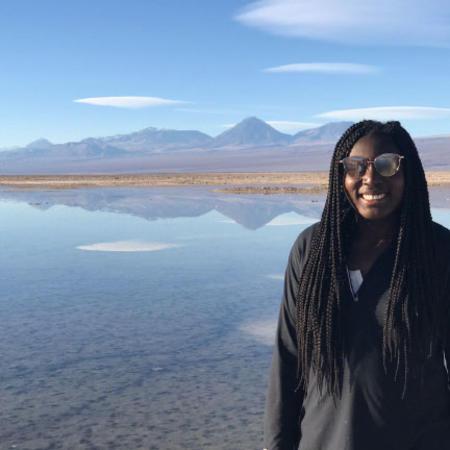Sopefoluwa Adeleye, DRCLAS Health and Spanish Immersion Program, Santiago, Chile