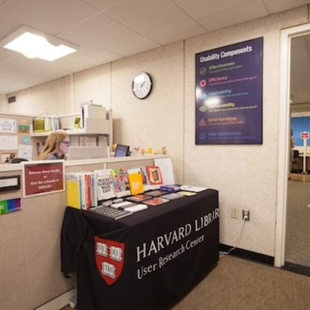 URC's info desk and lab library