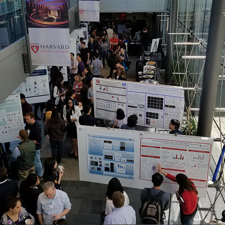 View from above: poster session