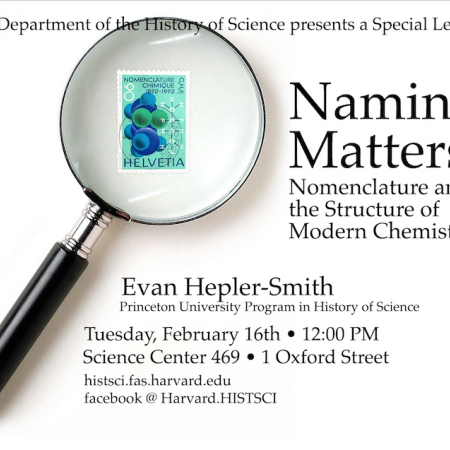 Hepler-Smith Lecture