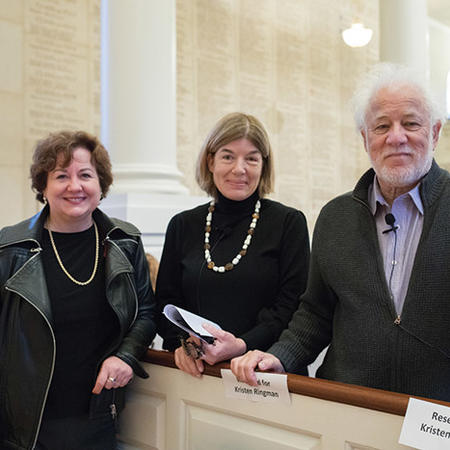 Image of Michael Ondaatje, Michele Lamont, Clare Messud