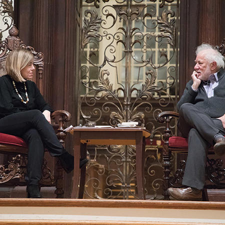 Image of Michael Ondaatje and Clare Messud