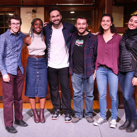 Image of Nemr and Harvard Stand-Up Comic Society