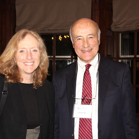 Image of Joseph Nye and Kathy Molony