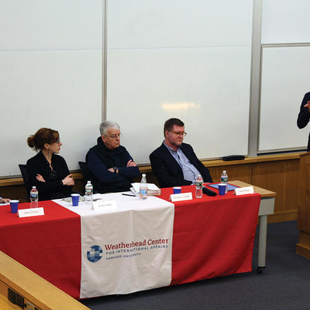 Image of WIGH conference panel