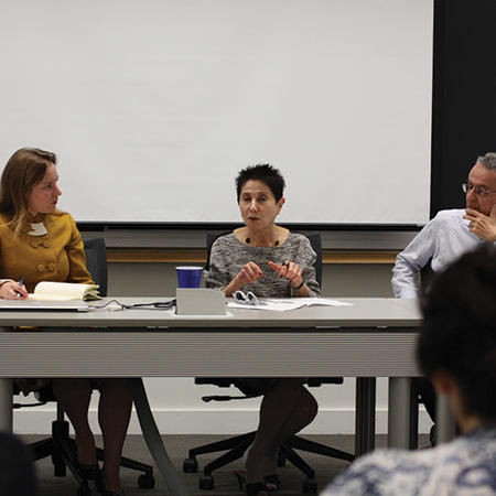 Image of Afro-Latin American Studies panel at Weatherhead Forum