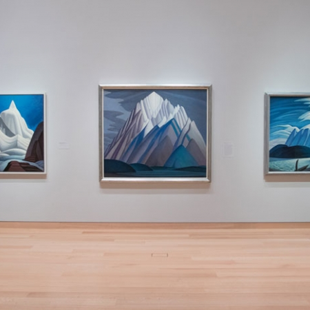 Image of Lawren Harris Exhibition, MFA, Boston