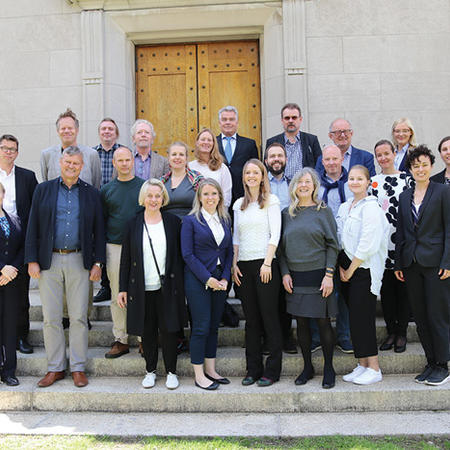 Image of participants in 2019 SCANCOR conference