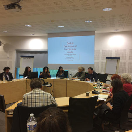 Image of Council of Europe Seminar in Strasbourg
