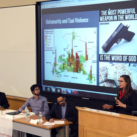 Samantha Luce Presents at UG Thesis Conference