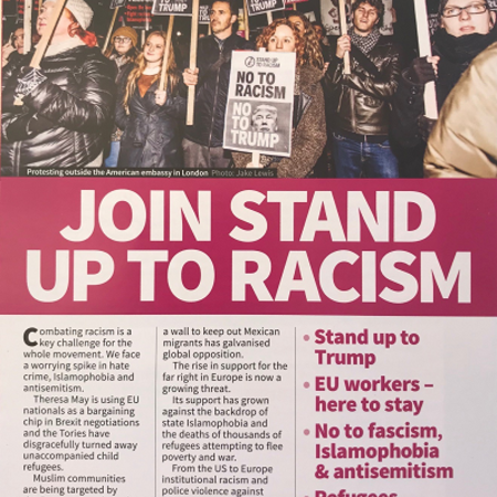 Britain - No to racism