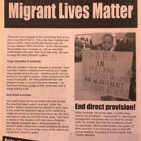 Ireland - Migrant lives matter