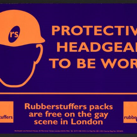 Protective headgear to be worn. Rubberstuffers packs are free on the gay scene in London
