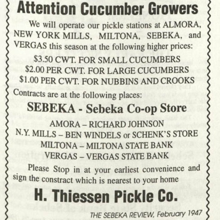 Attention Cucumber Growers