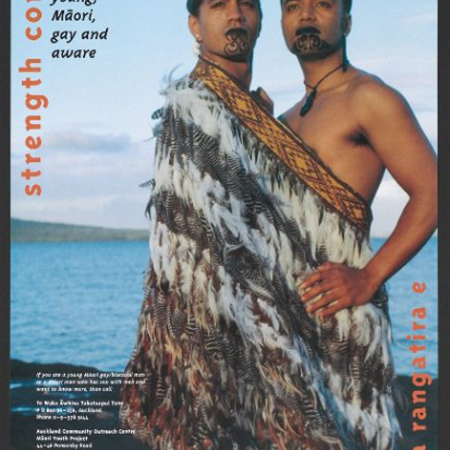 strength comes from knowing. Being young, Maori, gay and aware