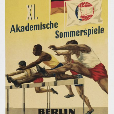 XI. Akademische Sommerspiele Berlin 6.-15. August 1951. Internationaler Studentenbund