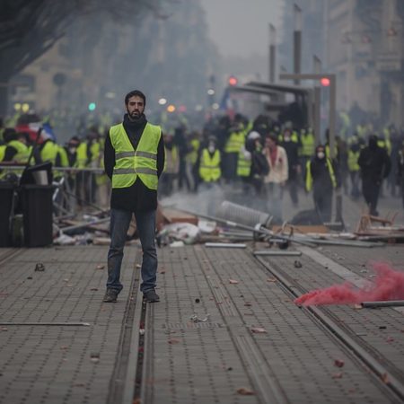 Yellow Vests Movement - Becognée 5