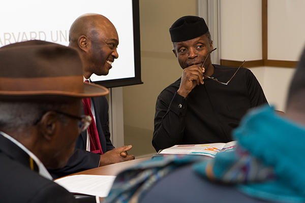 Center for African Studies and Vice President of Nigeria Yemi Osinbajo