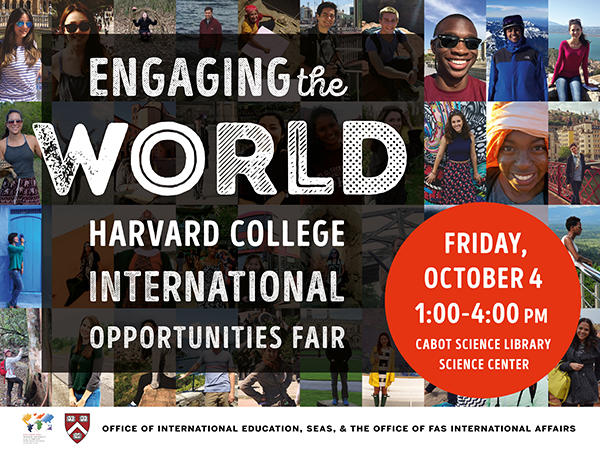 International Experience Fair Poster