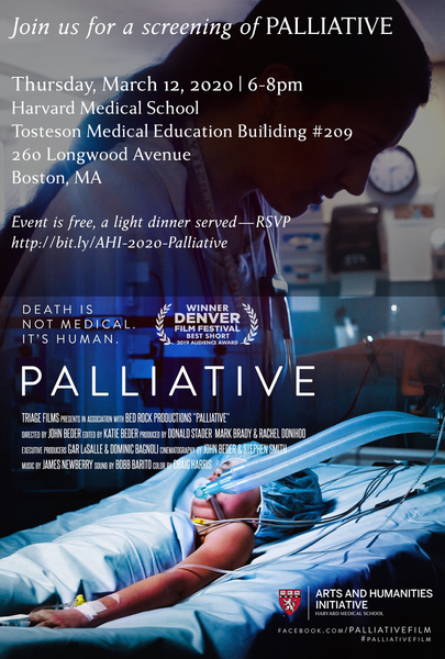 Palliative - a documentary screening