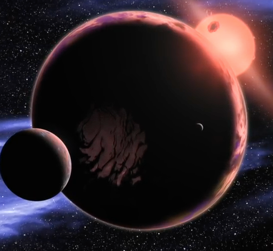Image of two planets