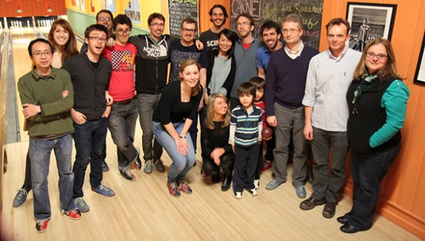 Bex Lab group photo