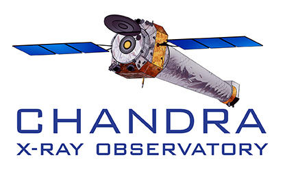 Chandra Logo shows a color image of the satellite