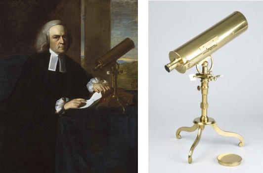 Winthrop and Telescope