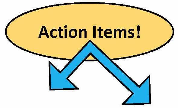 Action Items!