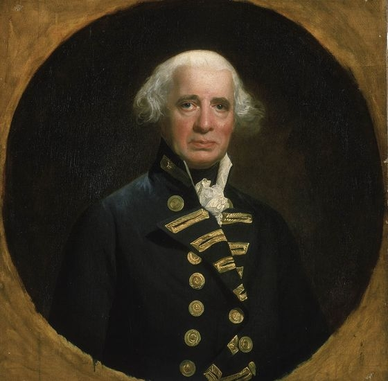 Portrait of Richard Howe, 1st Earl of Howe
