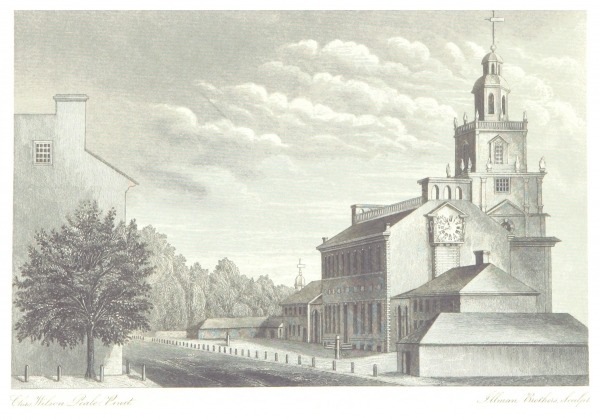 Reproduction of Engraving by Charles Willson Peale